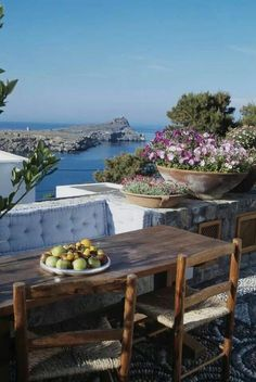 bluepassions:      Lindos, Rhodes, Greece
