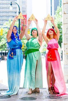 Three Goddesses from The Legend of Zelda