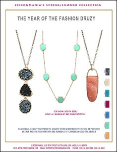 Zirconmania featuring their Spring/Summer Collection - AccessoriesTheShow, New York City, September 19-21 2012