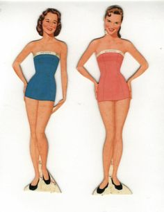 The Lennon Sisters paper dolls...