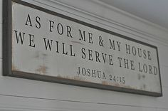 As for me and my house we will serve the by BetweenYouAndMeSigns, $100.00