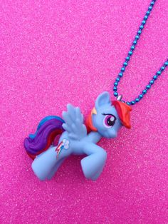 My Little Pony Rainbow Dash Necklace.