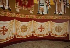 Byzantine Icons, Byzantine Art, Russian Icons, Church Interior, Orthodox Icons, Kirito, Christian Art, Ikon, Photography