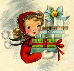 All sizes | Mid Century Christmas Card | Flickr - Photo Sharing!