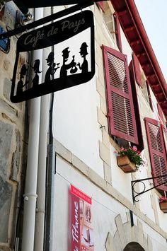 Café de pays, Aquitaine, France