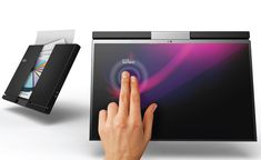 Fujitsu Lifebook Txiii Laptop Concept by Rizki Tarisa Touch Screen Table, Flexible Screen, Notebook Design, Cool Tech, Technology Gadgets, Book Of Life, Computer Accessories, Concept, My Love