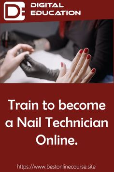 Train to become a Nail Technician Online. Train to be a Nail Technician with an Online Study Course. During these difficult times there are things you can do for when the world gets itself back together. Why not train to be a Nail Technician, there will be huge demand for your services when the pandemic is over, so take the chance today to start a new career and follow your dreams. Our website has details of courses from all over the web, take a browse now and be who you want to be in 2021!! Nail Technician Courses, Beauty Courses, New Career, You Can Do, Dreaming Of You, How To Become, Study, Train, Dreams