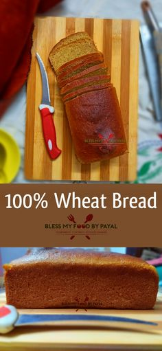 Homemade whole wheat bread recipe is one of the most easy recipes when it comes to baking. Vegetarian Platter, Vegetarian Recipes, Chef Recipes, Bread Recipes, Baking Recipes, Snack Recipes, 100 Whole Wheat Bread, Wheat Bread Recipe, Indian Food Recipes