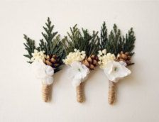 Boutonnieres in Groom's Corner - Etsy Weddings - Page 6