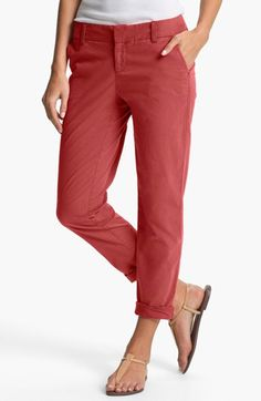 $58 Caslon® Chino Ankle Pants available at #Nordstrom
