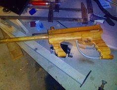 Paintball gun deco