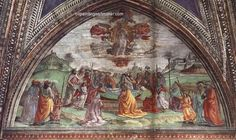 Domenico Ghirlandaio Death and Assumption of the Virgin, painting Authorized official website