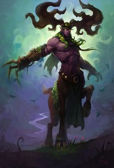 ... artstyle jeux soc xin qi world of warcraft druid board cenarius wow