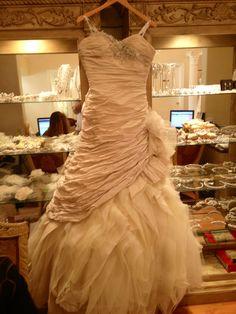 Brides dress -honey colout