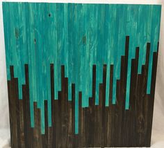 Etsy の Wood Wall Art  FREE SHIPPING by MDTWoodwork