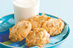 White Chocolate And Macadamia Cookies Recipe - Taste.com.au