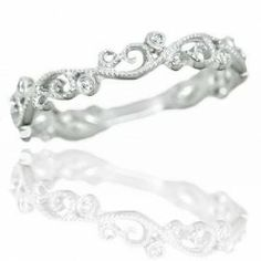 Unique Wedding Rings for Women. This one in particular, rad/me  #rings