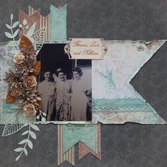 Flowers, Lace, and Ribbons - Scrapbook.com
