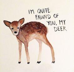 fawn'd