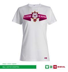 #NoOficial #22072013INSPIRA #Soccer #Apparel #Textil #Design