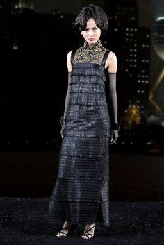 Chanel Pre-Fall 2010 Fashion Show - Ling Ling Kong