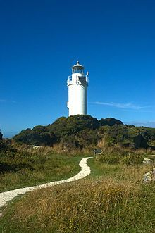 Cape Foulwind Lighthouse.  Westport, West Coast, New Zealand.  ^James Print