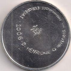 Motivseite: Münze-Europa-Südeuropa-Portugal-Euro-8.00-2006-D. Henrique o Navigador