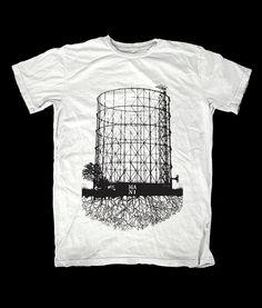 T-shirt Gazometro MANI di MANIserigrafia su Etsy