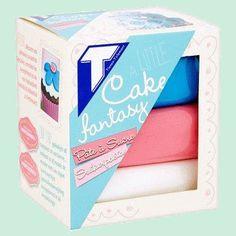 Tirlemont pâte à sucre Cake Fantasy 3x150gr