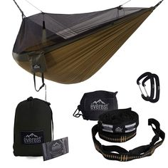 Intelligent Portable 1-2 Person Outdoor Hammock Camping Hanging Sleeping Bed With Mosquito Net Garden Swing Relaxing Parachute Hammock Fragrant Aroma Camping & Hiking Sleeping Bags