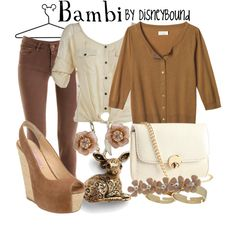 Bambi, created by lalakay on Polyvore #disney