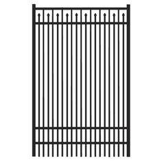 Fence Gate Aluminum Fence And Gates On Pinterest
