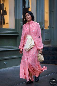 4ef55e4aea53 New York Fashion Week SS 2016 Street Style  Rachael Wang