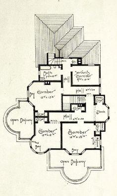 Edwardian floor plans 2nd floor