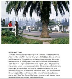 Signal Hill, Long Beach, CA, 1941. I think I'm glad it didn't look like this there when I was growing up.