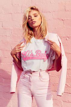 Elsa Hosk stars in Elsa Hosk x Bik Bok spring-summer 2018 campaign