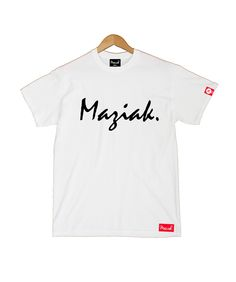 SIGNATURE TEE IN WHITE
