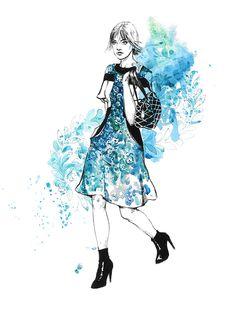 Louis Vuitton. by Diana Kuksa (Nesypova), via Behance