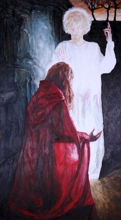 Rob Floyd Fine Art - Stations of the Resurrection, 3. Christ Appears to Mary