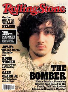 Polémica por Dzhokhar Tsarnaev en portada de revista Rolling Stone: http://washingtonhispanic.com/nota15513.html
