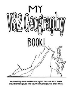 Regions of Virginia: The Five Geographical Regions Map