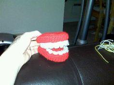 False Teeth - Media - Crochet Me
