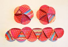 Paper Ball Ornaments - fun holiday craft to do with the kids.