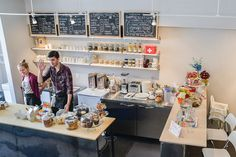 http://www.blogto.com/cafes/red-fish-blue-fish-creative-cafe-toronto