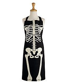 Forget tricks, you'll be cooking up all kinds of delicious treats with this skeleton apron!