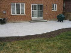 Extended Concrete Patio