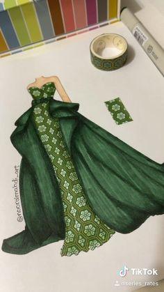 Fashion Design Books, Fashion Design Sketchbook, Fashion Design Drawings, Fashion Books, Fashion Figure Drawing, Fashion Drawing Dresses, Fashion Illustration Dresses, Dress Design Drawing, Dress Design Sketches