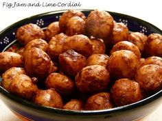 Spiced Roast Macadamias