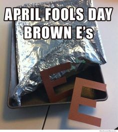 This is a cute April Fools prank :)