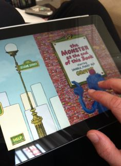 Guided access on the iPad - a way to keep kids from navigating out of the app you/they are using